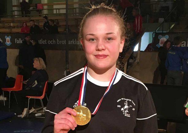 Ny seger för Nora Svensson