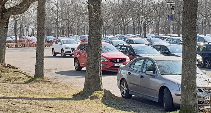 Parkeringshus kan bli verklighet