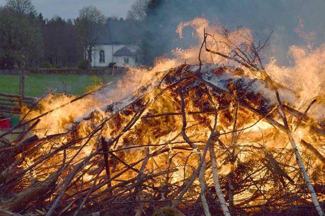 Fortsatt eldningsförbud