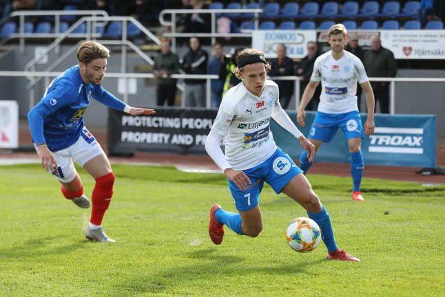Direkt, IFK–ÅFF, slut: 1–1