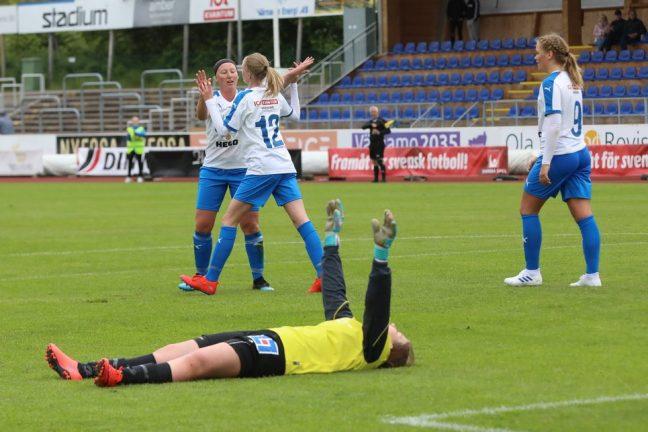 IFK-damerna snabbt tillbaka som vinnare
