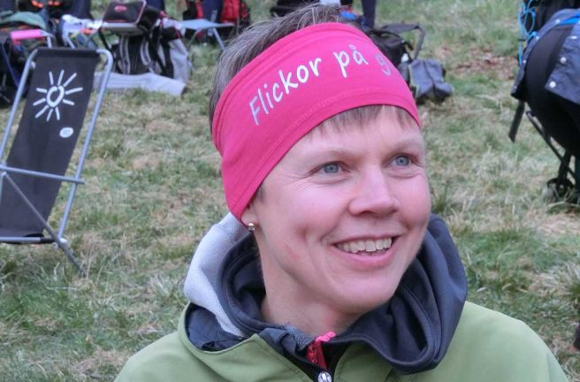 Carina Svensson tog SM-guld i MTBO
