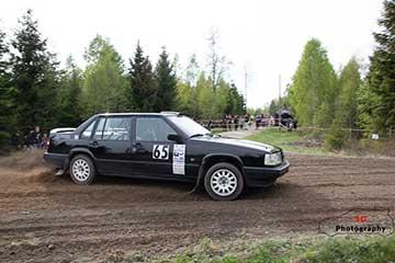 Klasseger för SSMK:s rallyförare i Ljungby