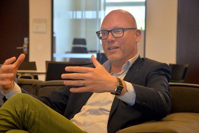 EU-politiker besökte företagare i Värnamo