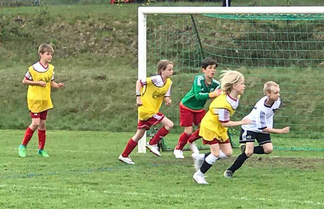 Bildspel och tv: Full fart på Fotbollens Dag
