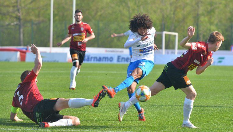 IFK:s första seger försvann på övertid