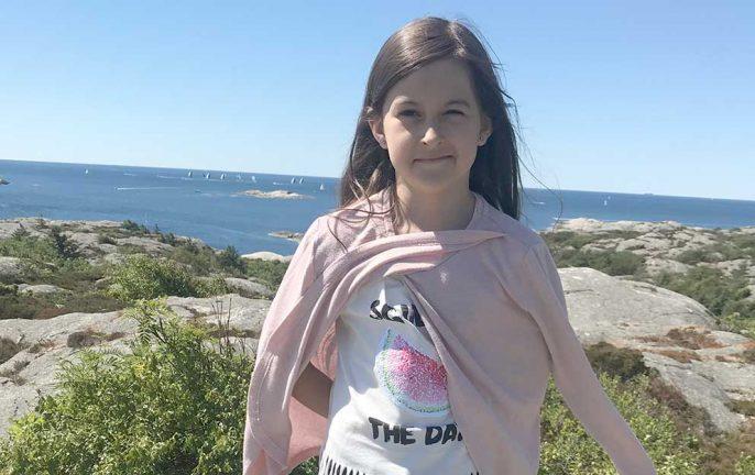Nellie Schoeneck 11 år