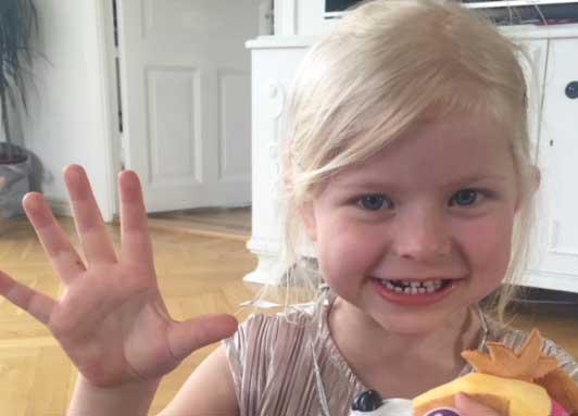 Molly Grythberg Sandahl 5 år