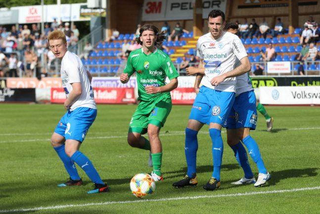 Rapporter, Ljungskile–IFK, slut: 3–0