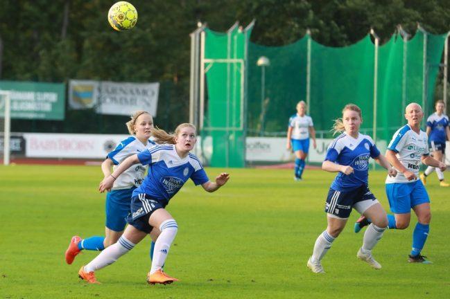 IFK-damerna körde över stackars WIK – bildspel