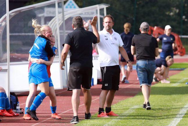 Vilket dramatiskt slut när IFK-dam vann