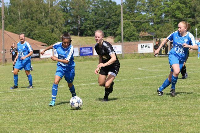 Bra kämpat BSK-dam – trots 0–2 mot Osby