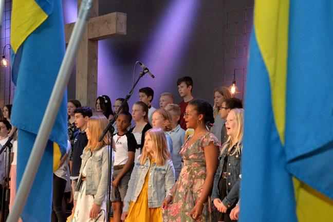 Trälleborgsskolan avslutade läsåret på Arken