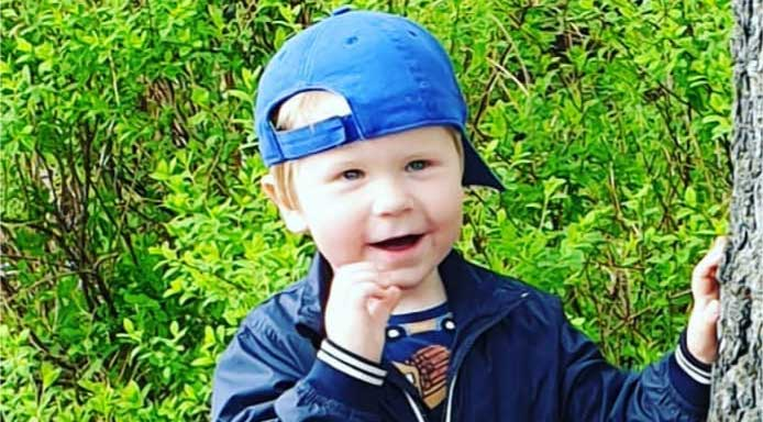 Elias Kimmehed 3 år