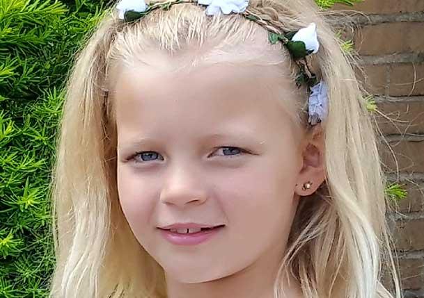 Isabel Wellermark 8 år