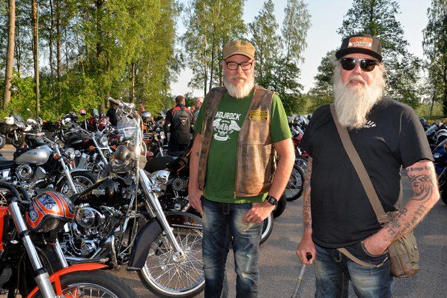 Bildextra: 500 motorcyklar kom till MC-träffen i Rydaholm
