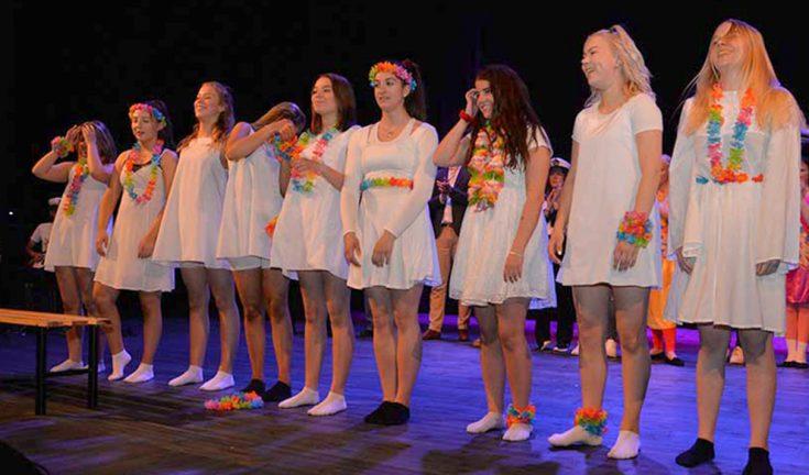 Figy-eleverna gör musikal