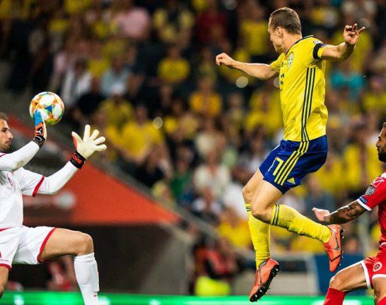 Claesson målskytt när Sverige vann