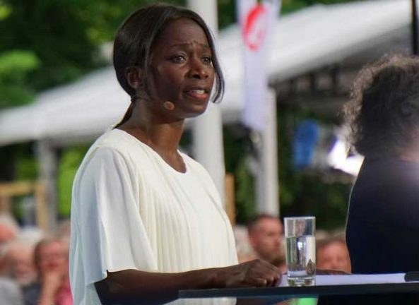 Nyamko Sabuni talade i Almedalen
