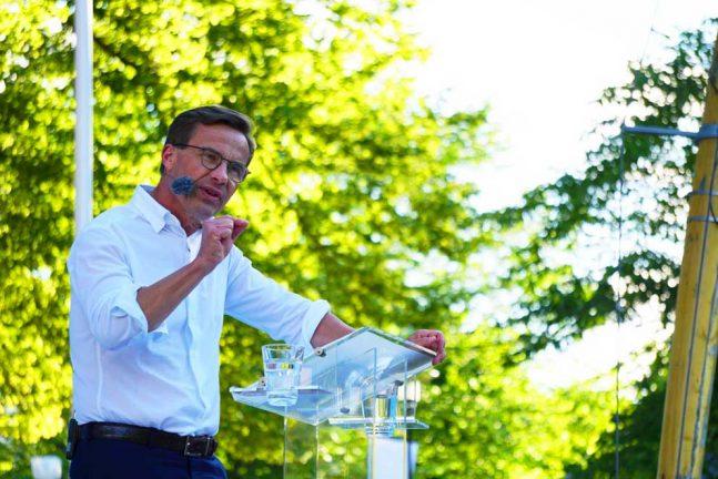 EU och integration för M-ledaren i Almedalen