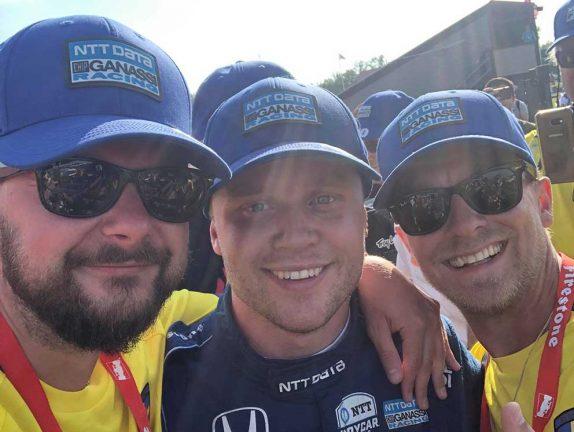 Marcus och Niklas fick se Felix köra