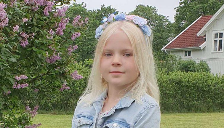 Meja Grythberg Sandahl 8 år