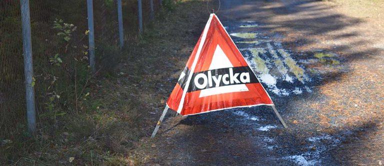 Trafikolycka utanför Värnamo