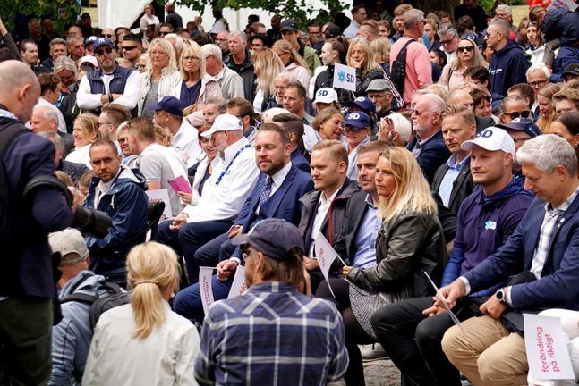 SD-ledaren talade i Almedalen
