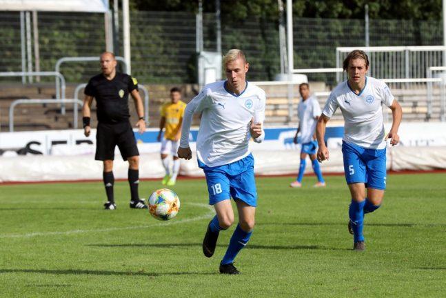 IFK U21 kryssade