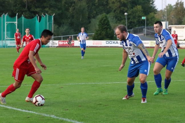 Forsheda vann derbyt mot V-Södra – bildspel
