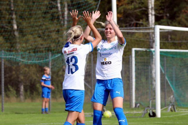 Bildspel:  7–0 för IFK-damerna