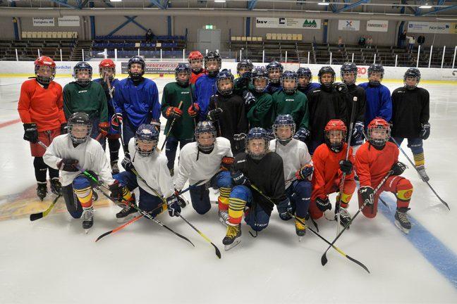 Hockeyskolan har startat