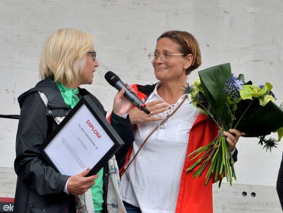 "Anna Anvegård ""Årets Bredarydsbo"""
