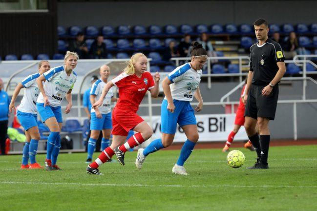 IFK-damerna vann med 2–0