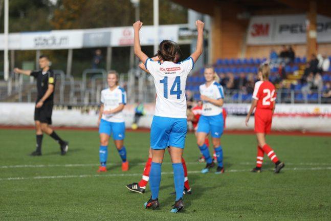 Nu är IFK-damerna nära seriesegern