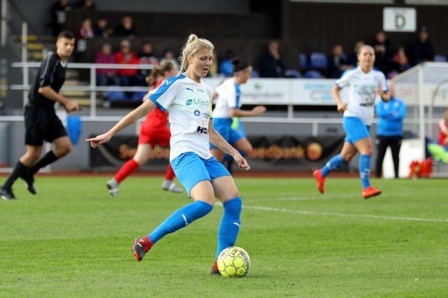 IFK i semifinal mot Växjö DFF