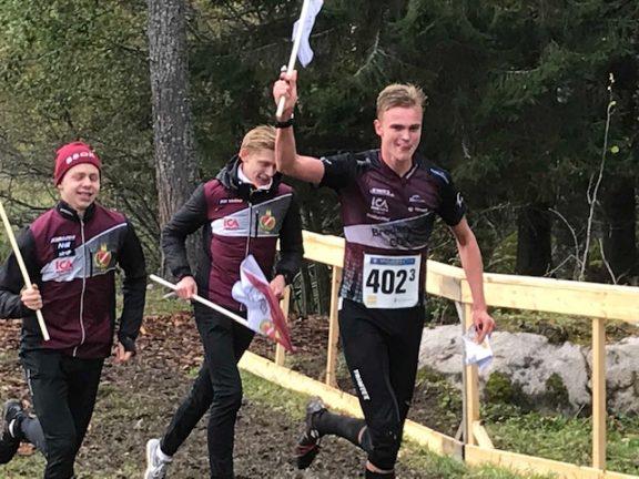 Bredaryds SOK vann junior-SM i stafett