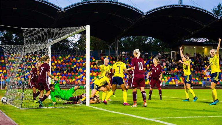 4–1-seger i EM-kvalpremiären