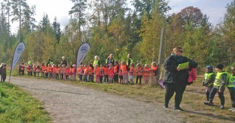 "140 barn sprang ett ""Marathonlopp"" i Rydaholm"