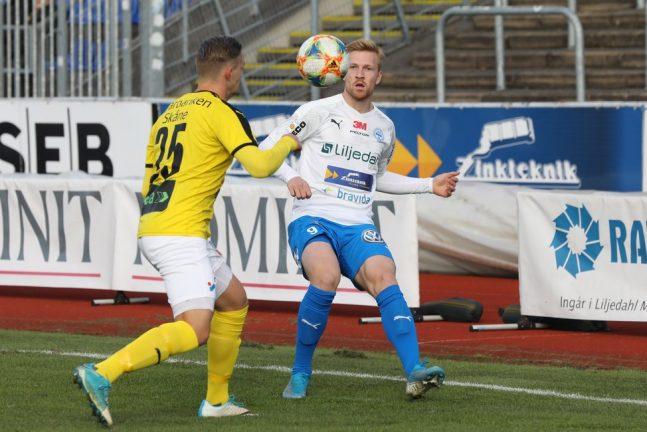 """Tre backar """"målade"""" när IFK slog Lund"""