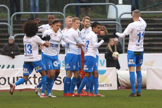 Bildextra: Målkalas när IFK blev seriesjua