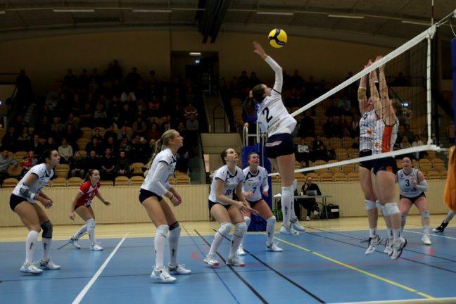 Bildextra: Värnamo Volley stred tappert