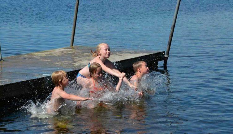 Badvattentemperatur mäts med ny teknik