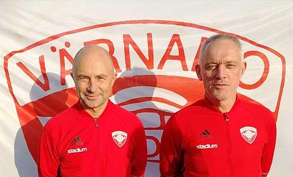 Magnus och Patrik tränar V-Södra