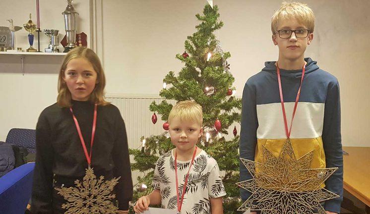 Tävlade om Julstjärnan