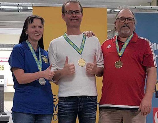 Medalj för Annika i Swedish Cup