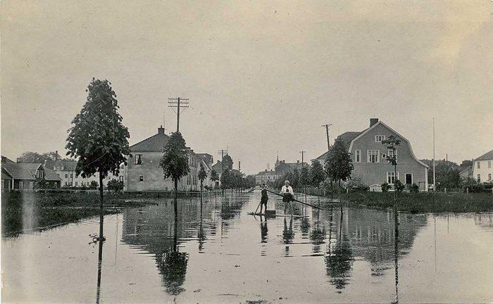 Högt vattenläge även 1927…
