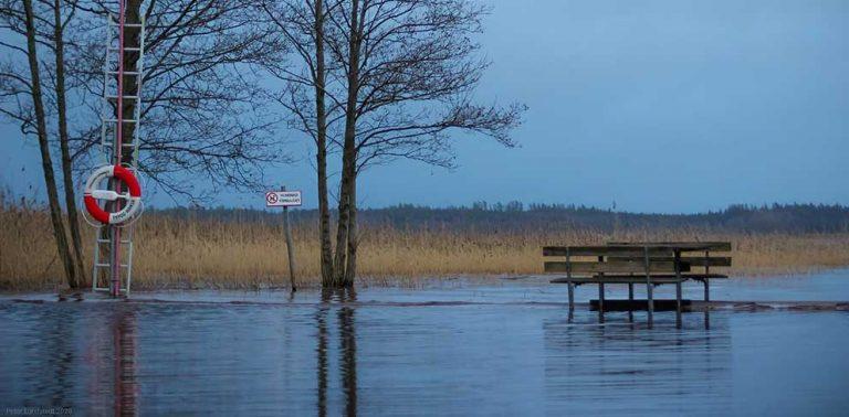 Läsarbilder från översvämningarna