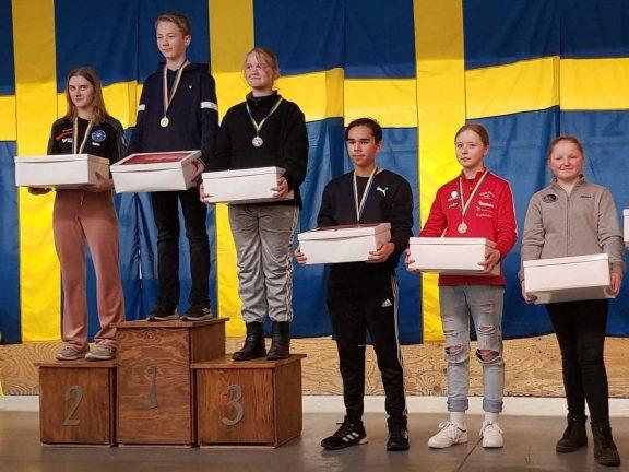 Alice Sjöberg sexa i riksfinal