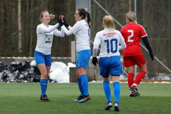 Storseger för IFKU dam